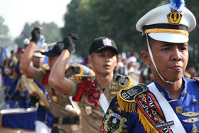 world police parade