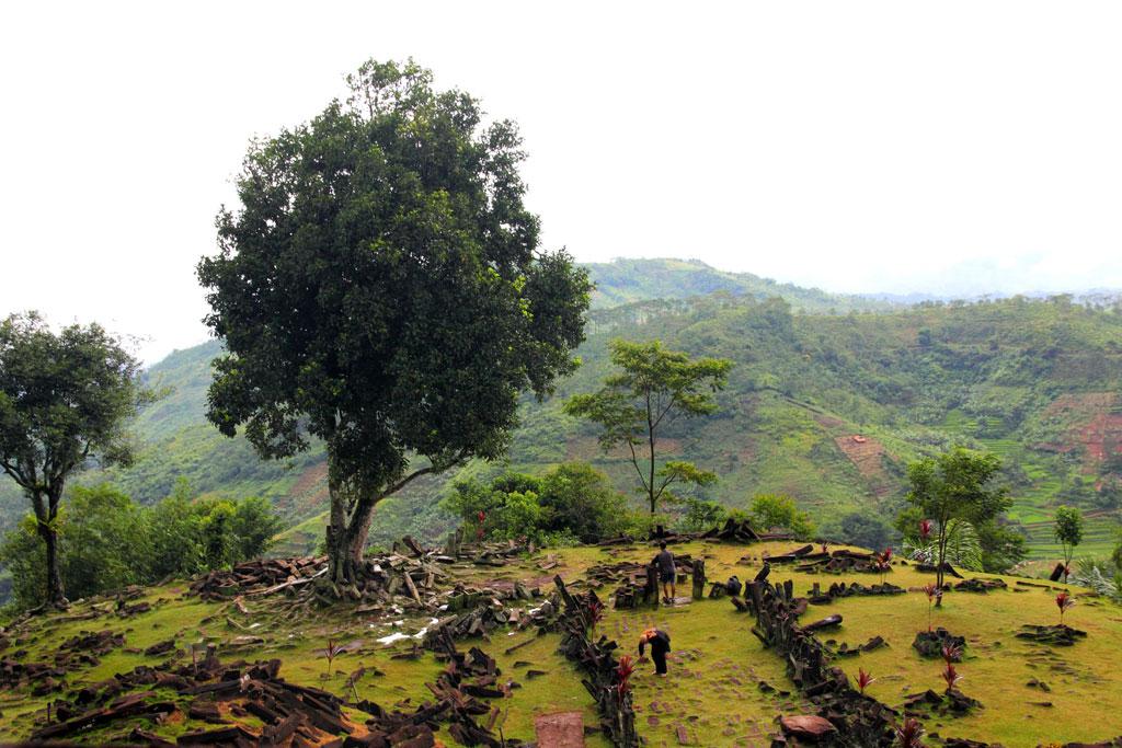 The mystical Gunung Padang