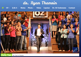 dr. Ryan Thamrin Personal Website