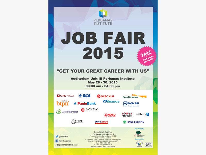 Job Fair 2015 Publication Material