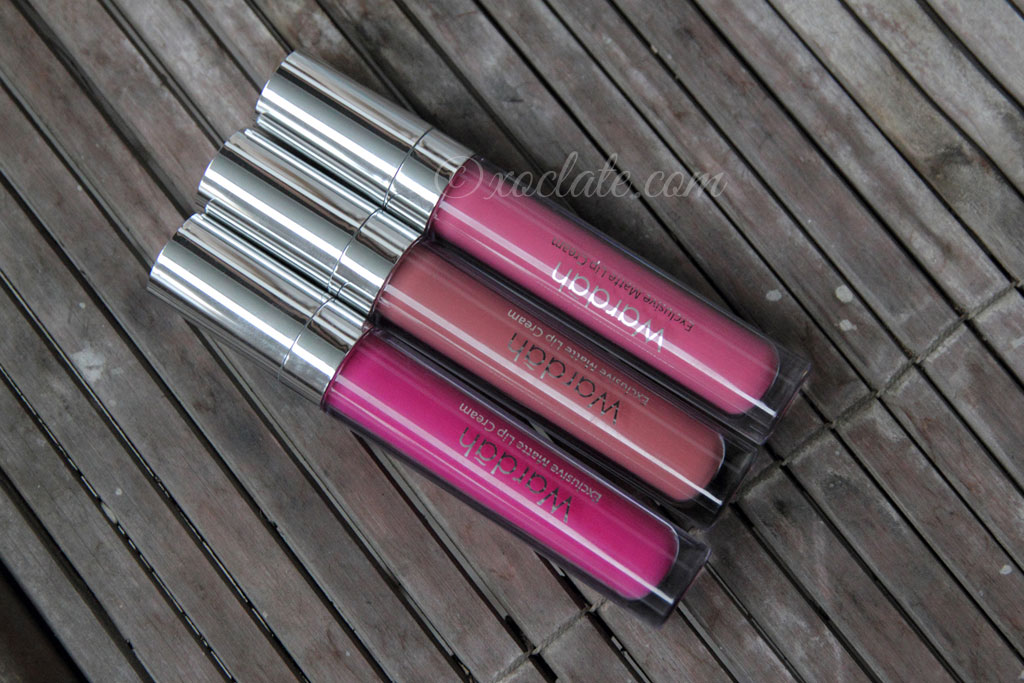 [Review] Wardah Matte Lip Cream #2, #3, #4,#5, #7,#11 & #12