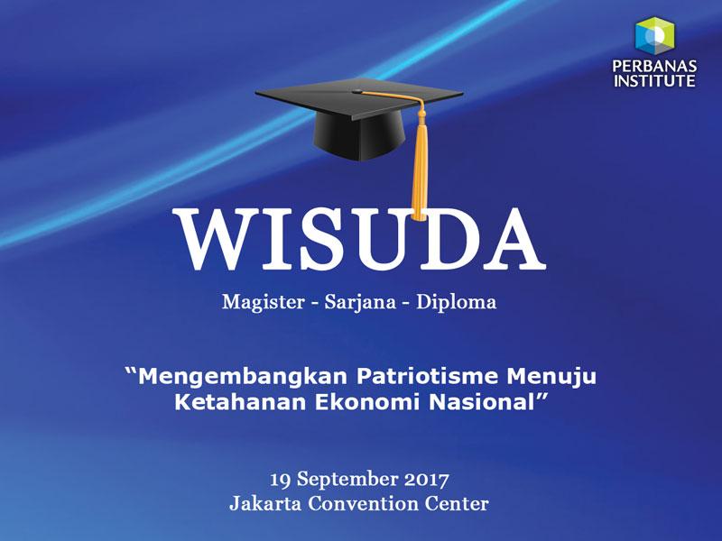 Wisuda Perbanas Institute 2017