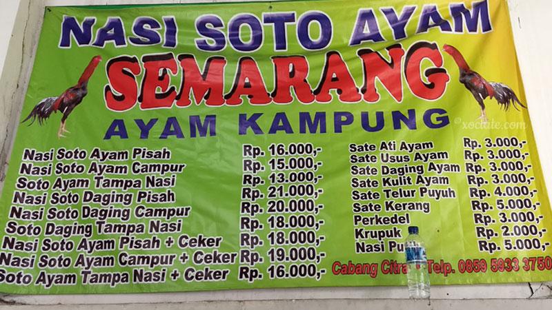"""Nasi Soto Ayam """"Semarang"""""""