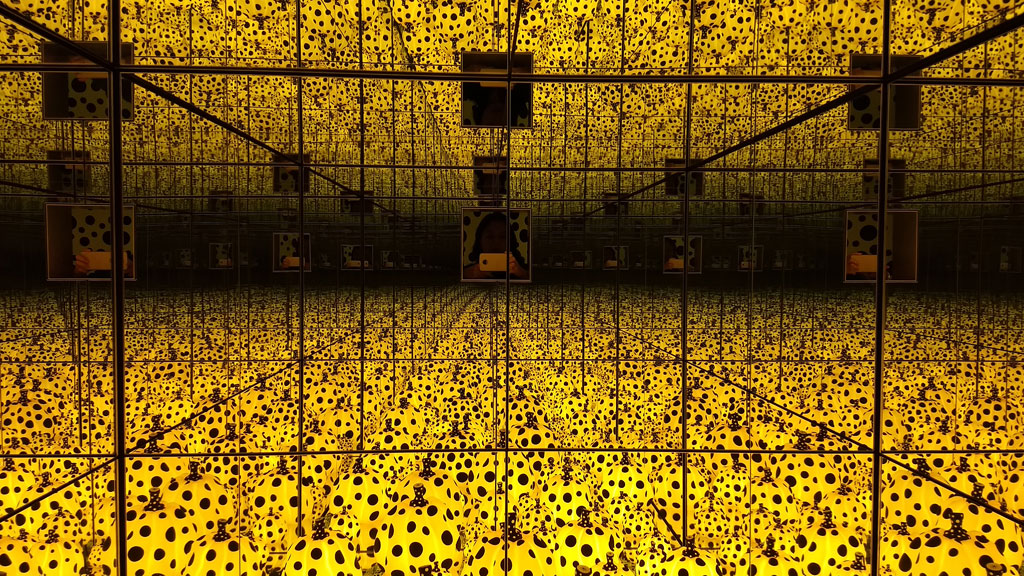 YAYOI KUSAMA: LIFE IS THE HEART OF A RAINBOW