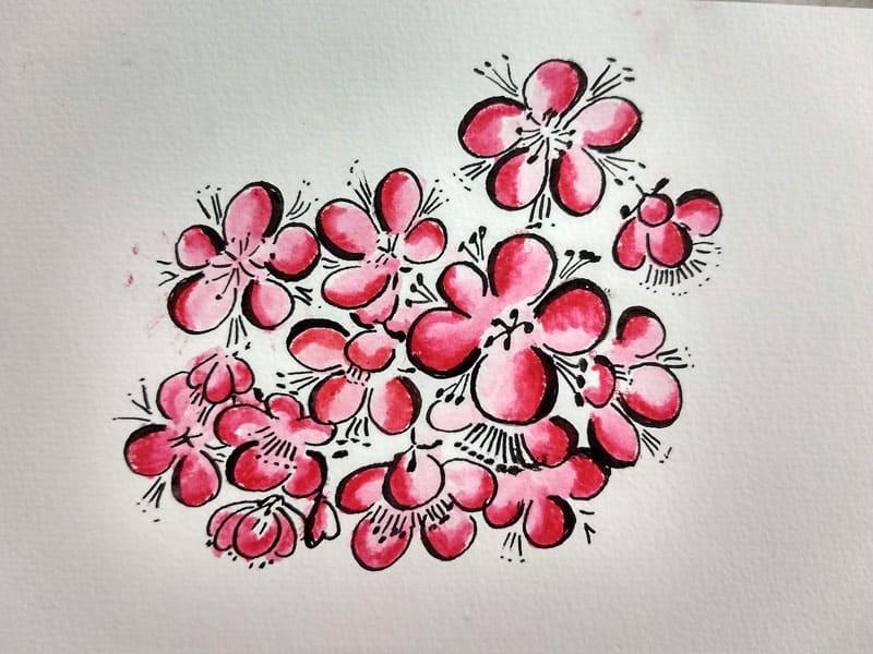 Pencil Color Doodle